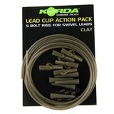 korda leadclip action pack clay