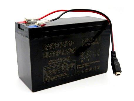 BaitBoats-Europe.Com Voerboot Lood Accu 12volt 9ah