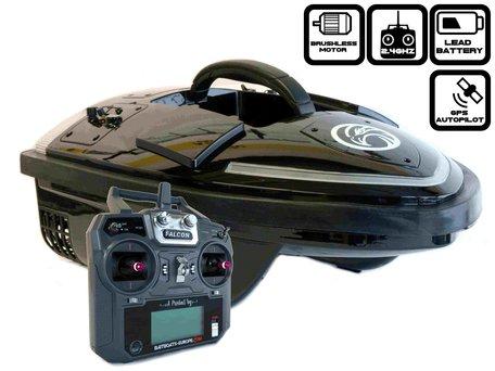 Sight Tackle Falcon Voerboot met GPS Autopilot en Lood Accu's