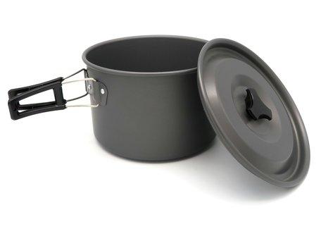 Sight Tackle Kookpan met Deksel (Large)