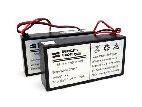 Skarp S60/ iCatcher Voerboot Lithium ION Battery 12v 17.6aH