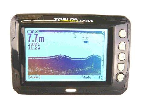 Toslon TF-300 Zwart Wit Dieptemeter