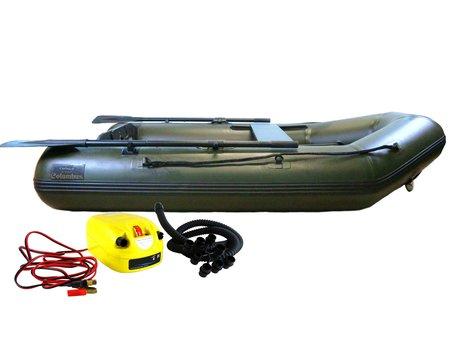 Sight Tackle Columbus Rubberboot 2.30m met Electrische Drukpomp