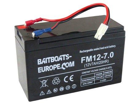 BaitBoats-Europe.Com Voerboot Lood Accu 12volt 7ah
