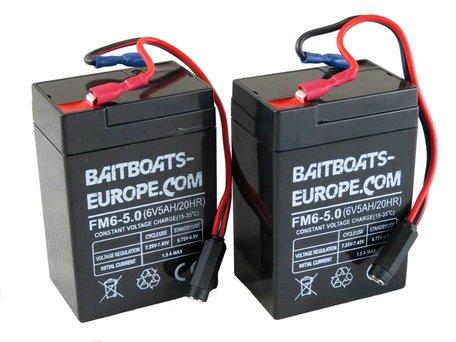 Baitboats-Europe.com Voerboot Lood Accu 6volt 5ah
