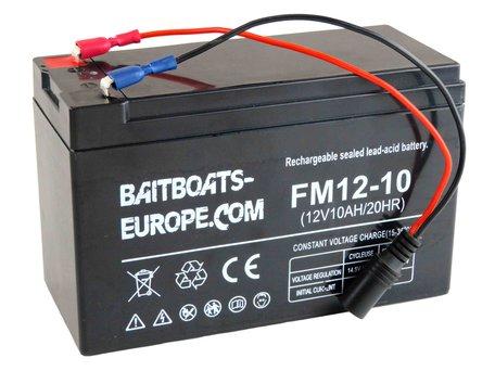 BaitBoats-Europe.Com Voerboot Lood Accu 12volt 10ah
