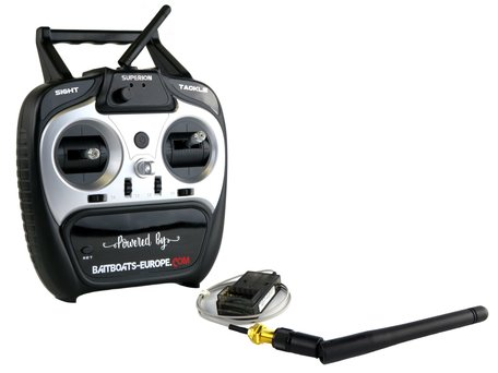 V2 Handzender met Ontvanger en Antenne (plug & play)
