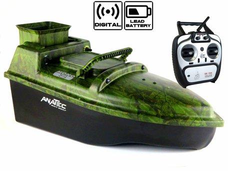 Anatec Monocoque S Oak Voerboot met Lood Accu