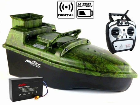 Anatec Monocoque S Oak Voerboot met Lithium ION Accu