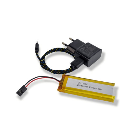 Digitale Handzender Lithiumpack 3200mAh met USB oplader