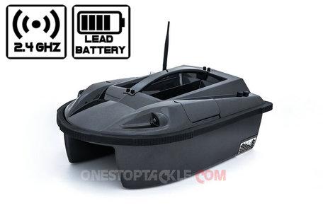 Onestoptackle.com Black Hawk I Voerboot met Lood Accu