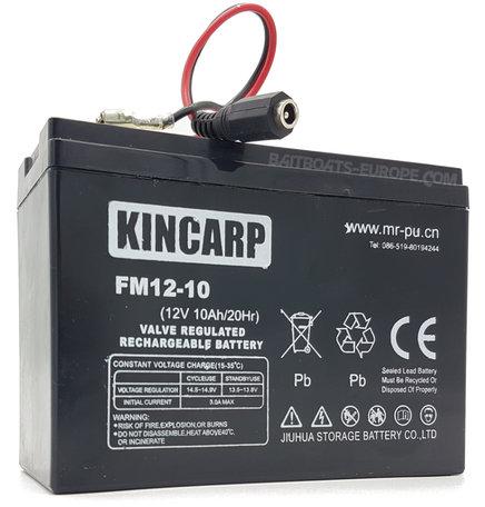 KINCARP Voerboot Lood Accu 12volt 10ah