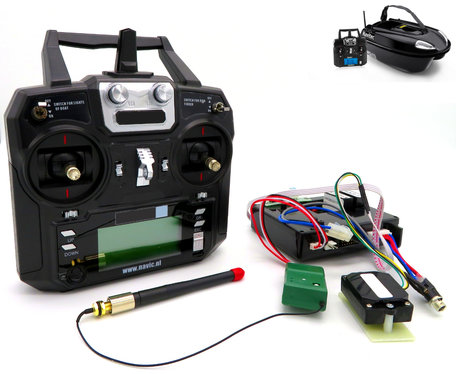 V2 Voerboot GPS Autopilot Systeem