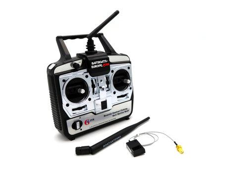 V6 Handzender met Ontvanger en Antenne 2.4gHz Digitaal