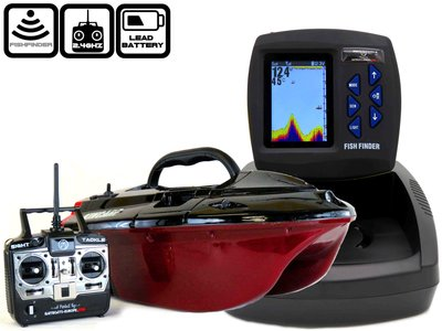 cult ranger baitboat color fishfinder sk-300