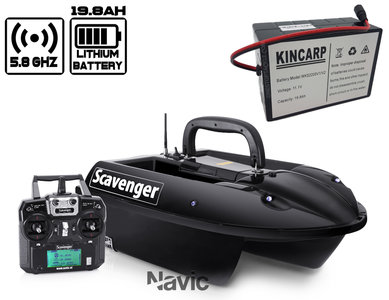 navic scavenger lithium ion voerboot