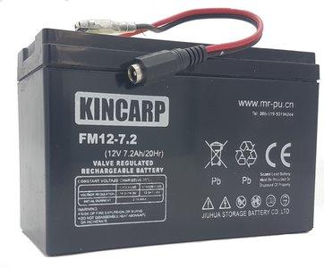 kincarp bait boat lead battery