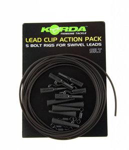 korda leadclip action pack silt