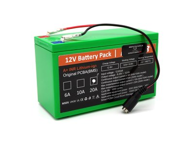 waverunner baitboat lithium ion battery 20ah