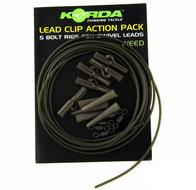 korda leadclip action pack weed